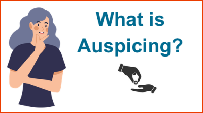 Girl wondering what Auspicing means